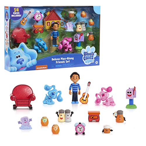 Blue%26#39;s Clues %26 You! Deluxe Play-Along Friends Set for 13.99