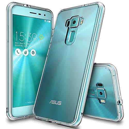 Ringke Zenfone 3 Hülle, Fusion kristallklarer PC TPU Dämpfer (Fall geschützt/Schock Absorbtions-Technologie) für das ASUS Zenfone 3 - kristallklarer