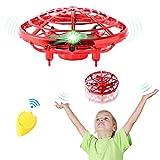 Mini Drone para Niños, semai Mini Dron UFO Para niños adultos, Flying Ball Juguete con 2...
