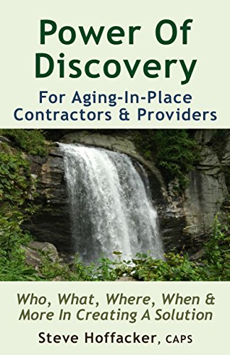 Book: Power Of Discovery - Who, What, When, Where & More In Building The Sale by Steve Hoffacker