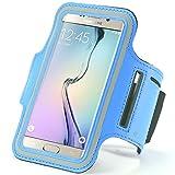Bleu extérieur Course à Pied Sport Gym Brassard Housse pour iPhone 7/6S/Samsung Galaxy S7/S6/S6Edge/A3J3/LG K4/HTC...