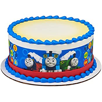 Astounding Amazon Com Thomas The Train Birthday Cake Kit Kitchen Dining Personalised Birthday Cards Sponlily Jamesorg
