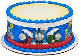 Thomas the Train Tank Engine Edible Cake Border - Set of 3 Strips