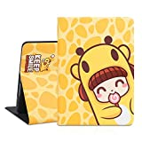 Cute iPad 9.7 Case, 6th/5th Generation Case, [Corner Protection] Durable Magnetic Leather, Soft Silicone Cover with More Angles Viewing and Auto Sleep/Wake (Lollypop)