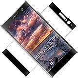 TOCYORIC Protector de Pantalla para Sony Xperia XA2, [2 Pack] [Full-Cover] Cristal Templado Xperia XA2, Alta Definicion, 9H Dureza, Vidrio Templado para Sony XA2