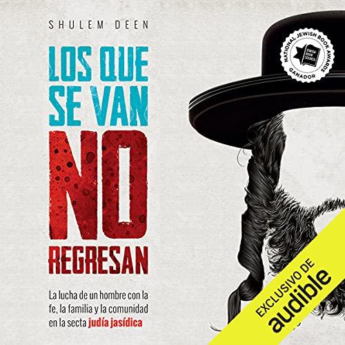 Diseño de la portada del título Los que se van no regresan