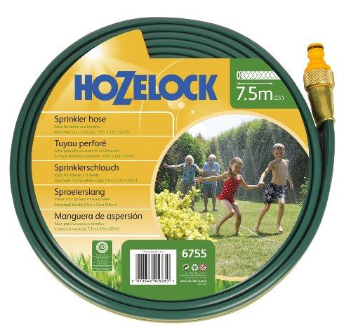 Preisvergleich Produktbild Hozelock Garten Schlauch Sprinkler-Schlauch 7, 5 Meter und Grundaussattung,  Bewässerungsfläche,  Mehrfarbig,  Max. 50 m²