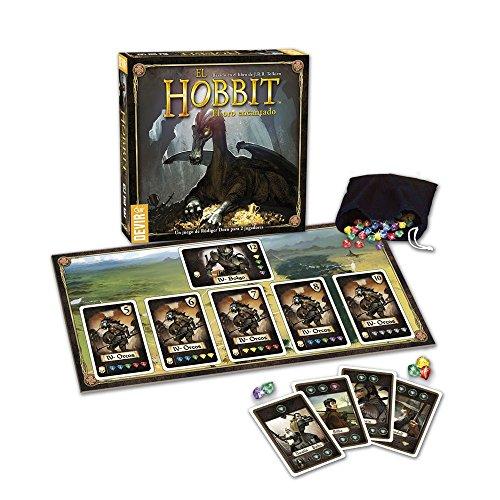 Devir-El Hobbit Oro Encantado Juego de Mesa, Miscelanea (221848)