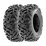 SunF 16x8-7 16x8x7 ATV UTV Tires 6 PR Tubeless A051 POWER II [Set of 2]