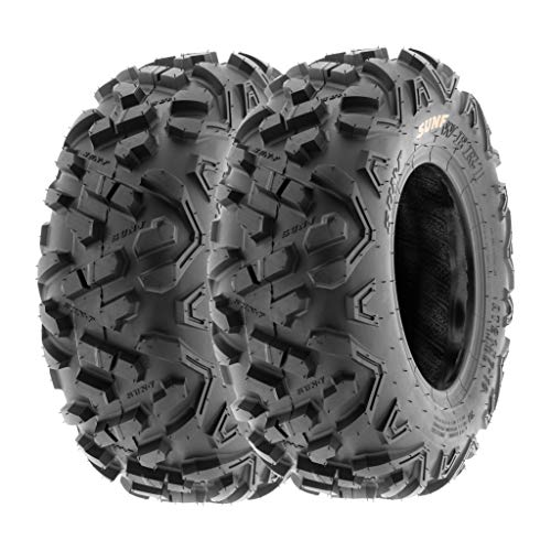 SunF 145/70-6 145/70x6 ATV UTV Tires 6 PR Tubeless A051 POWER II [Set of 2]