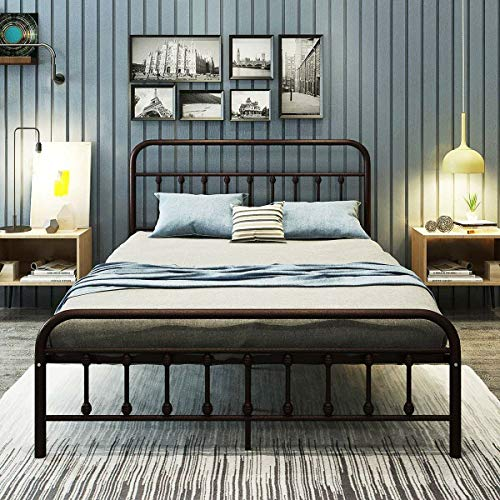 Weldon Platform Bed, Center Supports Included, Footboard Included