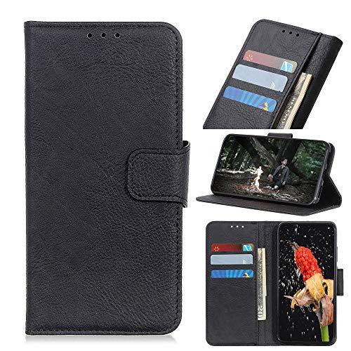 Custodia® Flip Brieftasche Hülle Kompatibel für LG Velvet(Muster 1)