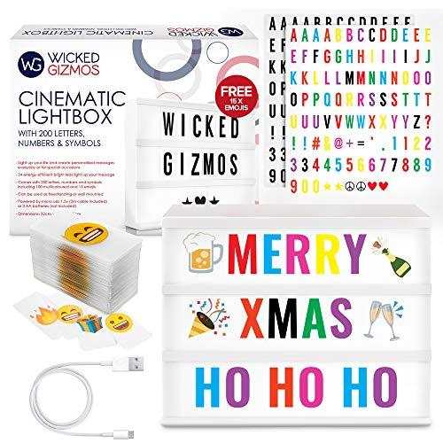 vintage-style cinéma box Extra lettre packs pour cinématique light-up sign cadeau