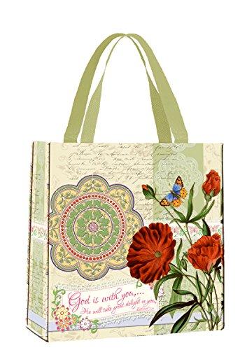 Divinity Boutique - Bolsa para Estudio de la Biblia, diseño con Texto en inglés God is with You