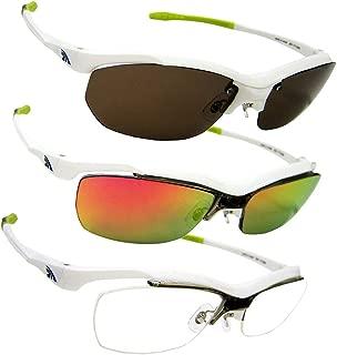 [紫外線99%カット]高品質 偏光サングラス スクエア レンズ3枚付属 軽量 運転 UVカット オリジナルケース付き