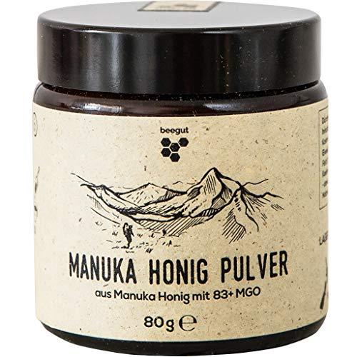 beegut Manuka Honig Pulver 80g, einfache Dosierung für Smoothies und co, original...