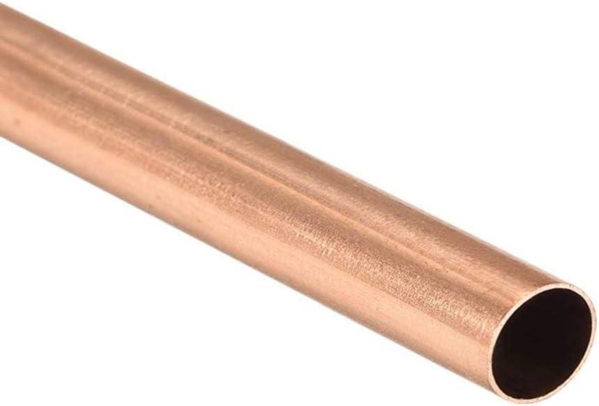 2 st/ücke,OD 6mm Korrosionsbest/ändigkeit f/ür Baudekoration 500mm leicht zu verschwei/ßt Industrie 99,9/% hohe Reinheit Kupferrohr Zerobegin Kupfermetallrohr