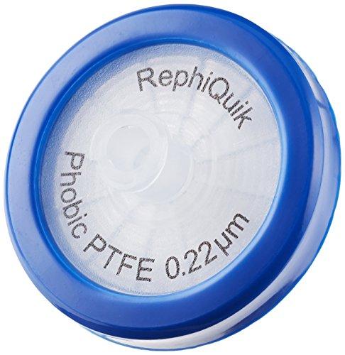 PTFE 32 mm 0,22 um filtro per siringa, 100 / box