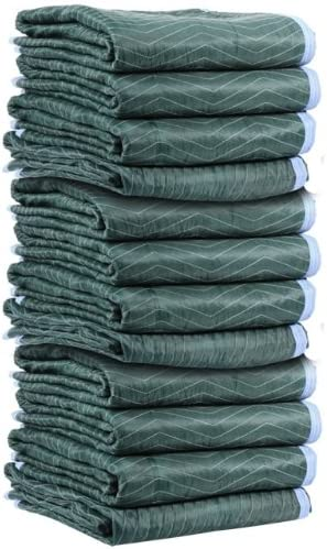 US Cargo Control Multi Mover Luxury Rapid rise Moving Blankets - Long Inches 80 By