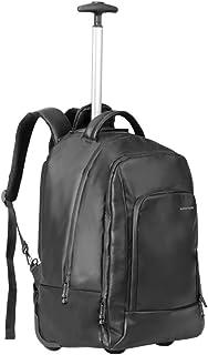 بروميت حقيبة ظهر محمول بعجلات متعددة الطبقات مع مساحة تخزين متعددة ومضادة للرذاذ لشاشات اللاب توب حتى 15.6 بوصة، آيباد برو، المكتب، ترانست