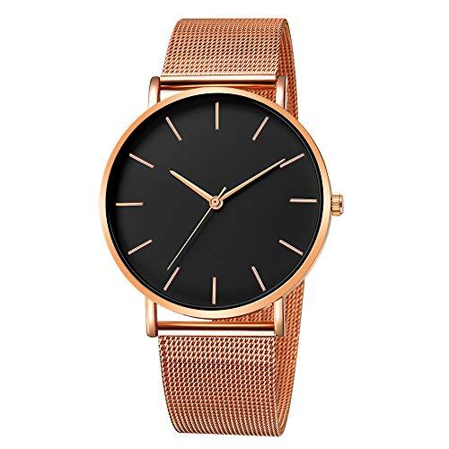 Hansee Herren-Armbanduhr, Legierung, elegant, klassisch, minimalistisch, Geschenk Gr. Einheitsgröße, F