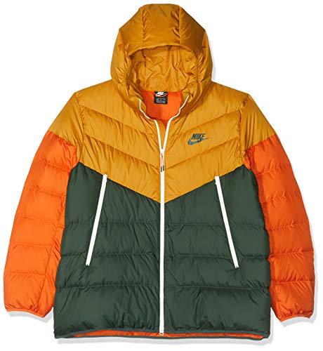 Nike Men's Sportswear Windrunner Down Jacket (Gold Suede, Medium)