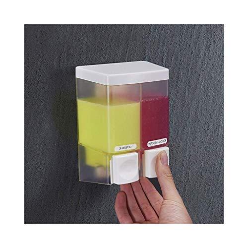 NMDD Lotionspender Flasche Weiß Wand Seifenspender Halter Handpresse Händedesinfektionsmittel Shampoo Duschgel Für Bad Werbung