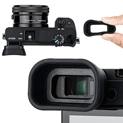 Kiwifotos Ocular ocular para Sony Alpha A6300, A6100, A6000, sustituye a los vasos de los ojos Sony FDA-EP10