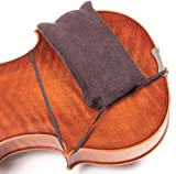 Faxx Geigenschulterpolster, dick geschnittenes Polster mit elastischen Befestigungsgurten, für jede Geigengröße geeignet