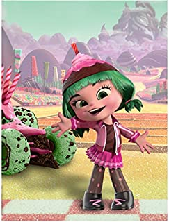 Wreck It Ralph Candlehead Voice Done by Katie Lowes 8 x 10 Inch Photo