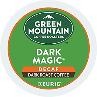 Green Mountain Coffee, Dark Magic Decaf, Single-Serve Keurig K-Cup Pods, Dark Roast, 12 Count, Pack of 6