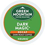 Green Mountain Coffee Roasters Dark Magic Decaf, Single-Serve Keurig K-Cup Pods, Dark Roast Coffee, 72 Count