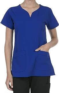 SHOP TIRZAH Women's Uniform Scrubs Medical 2 Pocket Scrub Top