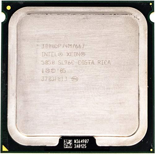 CPU Dual Core Intel Xeon 5050 3 Ghz 4 MB 667Mhz LGA771 SL96C Server Pc