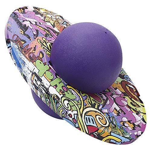 josietomy Pelota saltarina, deportiva, balones de equilibrio, ejercicio, a prueba de explosiones, para niños y adultos, soporta hasta 90 kg
