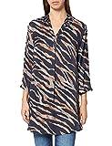 Betty Barclay Baia 2 Blusas, Azul Oscuro/Gris, 42 para Mujer