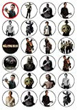24 The Walking Dead Edible Wafer Paper Cup Cake Toppers by CakeThat
