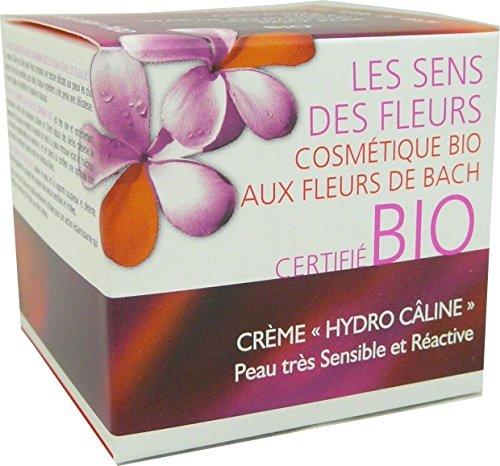 Les sens des fleurs - crème hydro calîne figue de barbarie eau florale de tilleul 50 ml