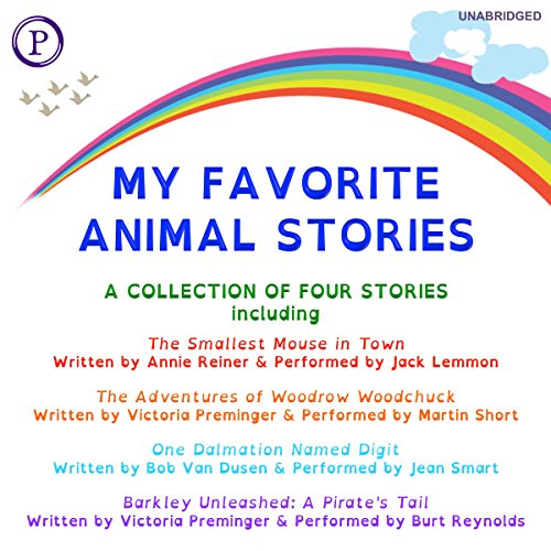 My Favorite Animal Stories audiobook cover art