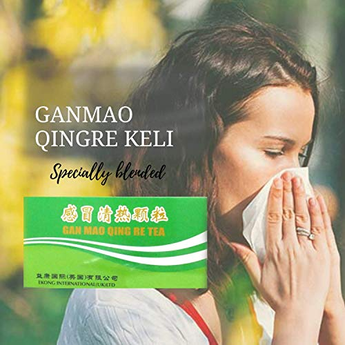 GinSen Gan Mao Qing Re Natural Immunity Booster Tea, Relieves Cold, Fever,...
