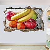 Pegatinas de pared fruta fresca pegatina de pared calcomanía arte mural impresión cartel decoración