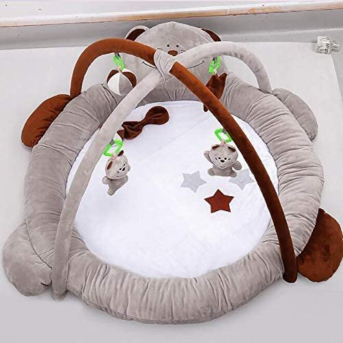 0-3 Jahre Alt Baby Fitness Rahmen Kinder Umweltschutz Früherziehung Spiel Teppich Neugeborenen Fitness Spielzeug Krabbeldecke Entwicklung Brain Power