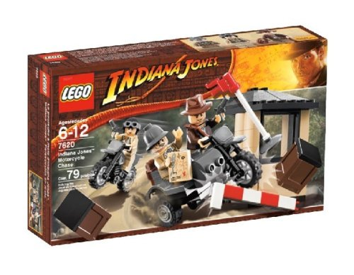 LEGO Indiana Jones Motorcycle Chase by LEGO