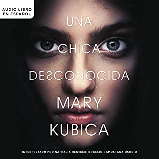 Una chica desconocida [An Unknown Girl] audiobook cover art