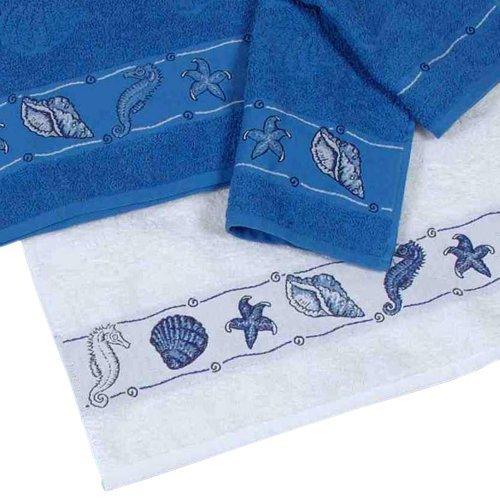 Dyckhoff 1379530400 Blue Summer Handtuch 50/100 cm blau