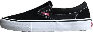 Vans(バンズ) メンズ 男性用 シューズ 靴 スニーカー 運動靴 Slip-On Pro - Black/White/Gum [並行輸入品]