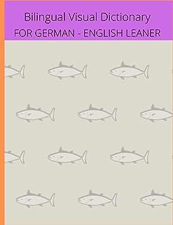 Paperback - Bilingual Visual Dictionary for German - English Leaner