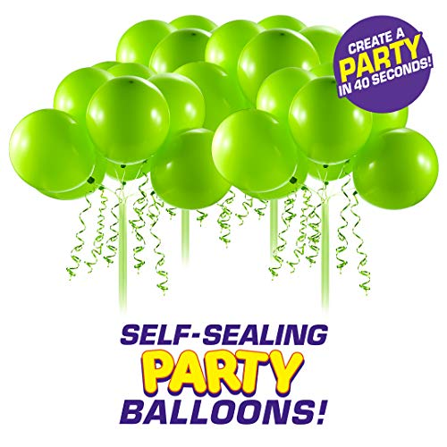 Bunch O Balloons - Self-Tie Party Balloons 4 Pack (32 Balloons) - Green