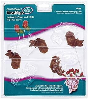 Make N' Mold Dress My Cupcake Rose Bud Lollipop Candy Mold