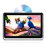 Car DVD Player with 10.1' HD Touch Screen, Portable Kids Headrest Monitor,Android Tablet for SUV, WiFi/Bluetooth/USB/SD Card/HDMI Out, Rechargeable Battery Great for Family Travel